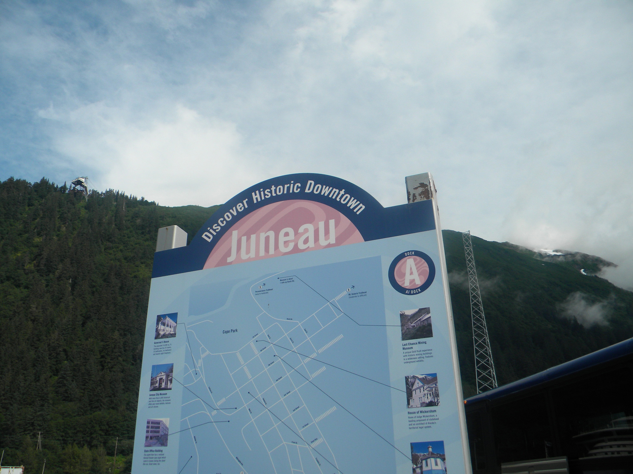 Juneau, capital city of Alaska, summer 2012