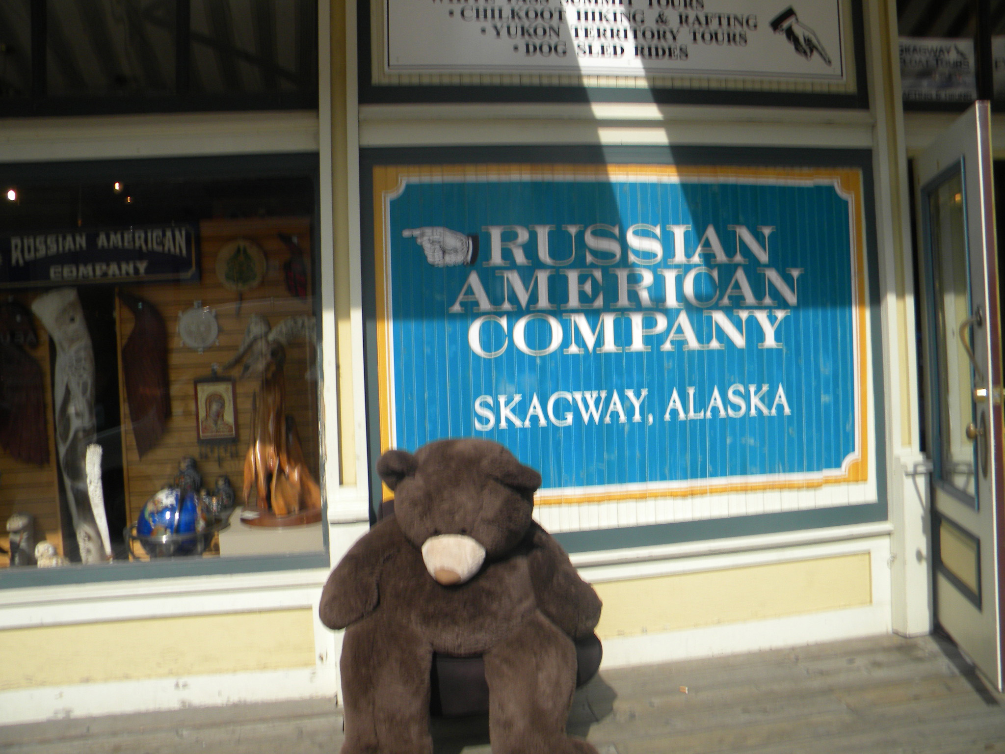The City of Skagway, Alaska, summer, 2012