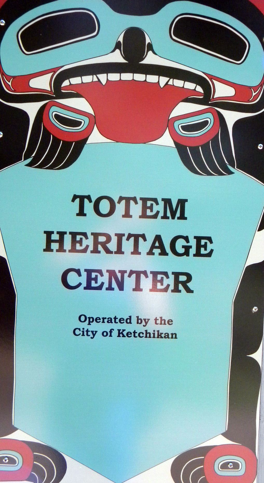 Totem Heritage Center, Ketchikan, Alaska, summer 2012