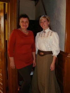 Two Ladies in the Lougheed House