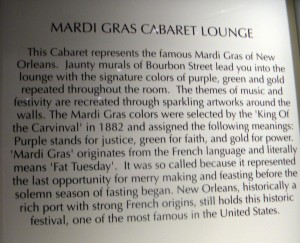 Mardi Gras text
