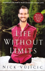 Nick Vuicic's book (cover)