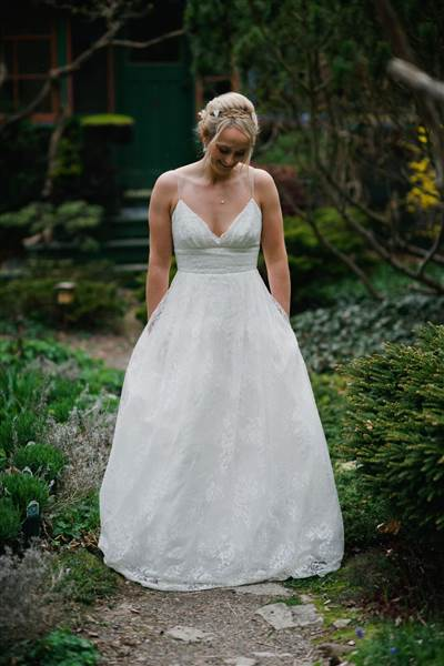 Elise Phillippo's wedding dress